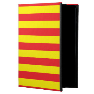 Yellow and Red Horizontal Stripes Powis iPad Air 2 Case
