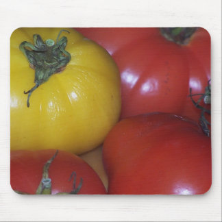 Yellow and Red Tomato Mousepad