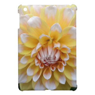 Yellow and White Dahlia iPad Mini Cases