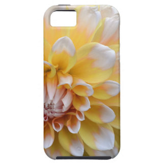 Yellow and White Dahlia iPhone 5 Covers