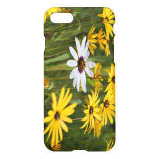 Yellow and White Flowers IPhone 8/7 Phone Case
