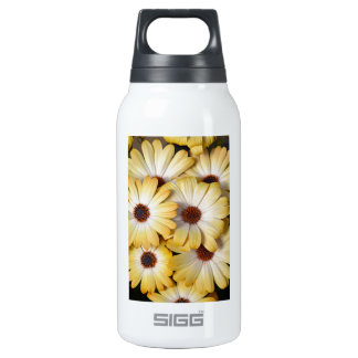 Yellow and white osteospermum flowers 0.3L insulated SIGG thermos water bottle