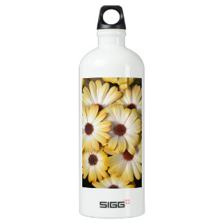 Yellow and white osteospermum flowers SIGG traveller 1.0L water bottle
