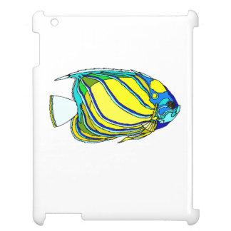 Yellow Angel Fish iPad Covers