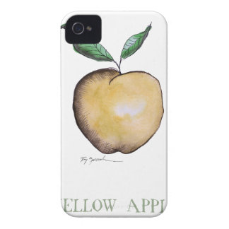 yellow apple, tony fernandes iPhone 4 cases