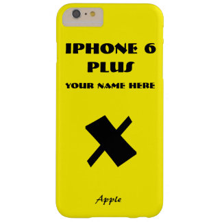 Yellow Apple X Customize IPhone 6 case your name