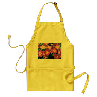 Yellow Apron with floral design