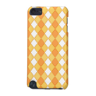 Yellow argyle pern  iPod touch 5G cases