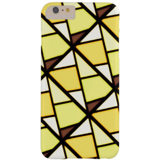 Yellow art design barely there iPhone 6 plus case