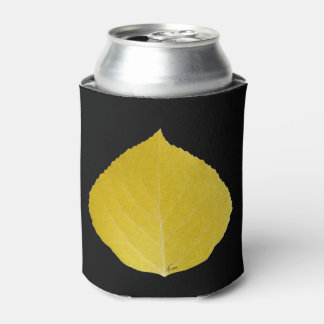 Yellow Aspen Leaf #5 Can Cooler