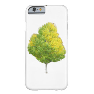 Yellow Aspen Tree Barely There iPhone 6 Case