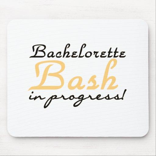Yellow Bachelorette Bash Mouse Pads