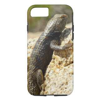 Yellow-Backed Spiny Lizard at Joshua Tree iPhone 8/7 Case