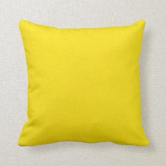 Yellow background throw pillow