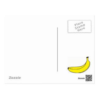 Yellow Banana Postcard