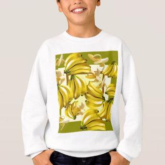 yellow bananas sweatshirt