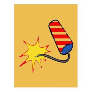 Yellow Bang Postcard