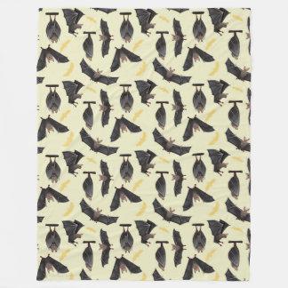 yellow bats blanket