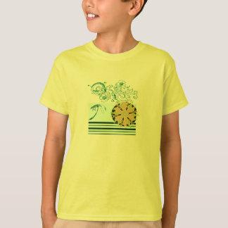 Yellow-beach-surf-Tee-for-kids T-Shirt