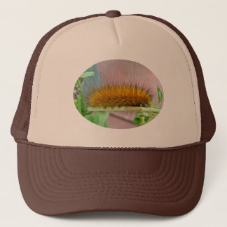 Yellow Bear Caterpillar Virginian Tiger Moth Items Trucker Hat
