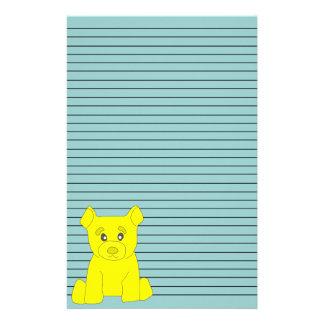Yellow Bear Stationery