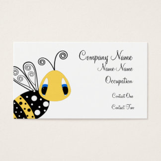 Yellow Bee Bueinss Card