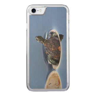 Yellow Bellied Slider Carved iPhone 7 Case