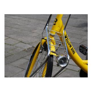 Yellow Bike Amsterdam Post Cards