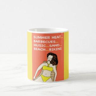 Yellow Bikini - Mug