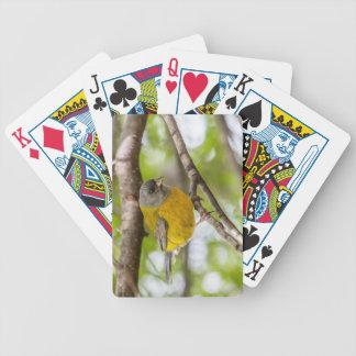 Yellow Bird Bicycle Playing Cards