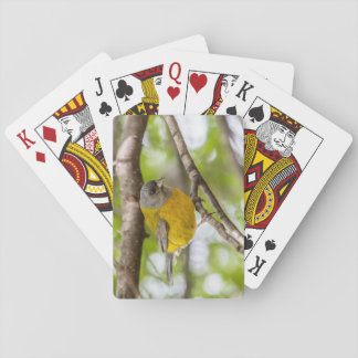 Yellow Bird Playing Cards