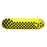 """Yellow & Black"" 21.6 Cm Old School Skateboard Deck"