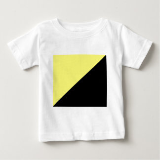 Yellow & Black Anarcho Capitalism Flag Baby T-Shirt