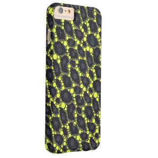 Yellow Black Cheetah Barely There iPhone 6 Plus Case