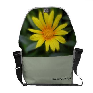 Yellow Bloom Commuter Bag