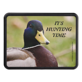 Yellow Blue Duck Hunting Trailer Hitch Cover