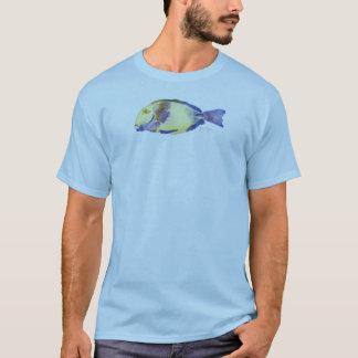 Yellow/Blue Fish Apparel T-Shirt