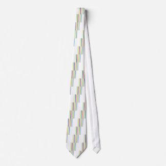 Yellow Blue Green Stripes Tie