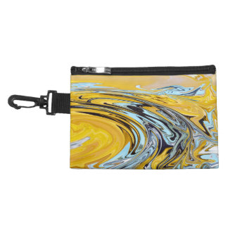 Yellow blue swirls Bagettes Bag Accessories Bags