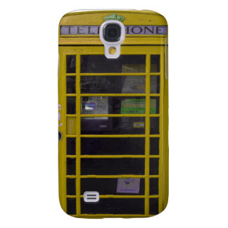 yellow booth 3 casing samsung galaxy s4 cover