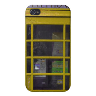 yellow booth 4 casing iPhone 4/4S case