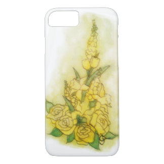 Yellow Bouquet iPhone 7 Case