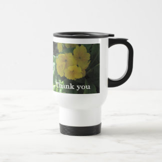 Yellow bouquet Thank you Coffee Mug
