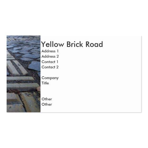Yellow Brick Road Business Card