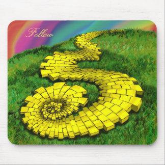 Yellow Brick Road Mouse Pad