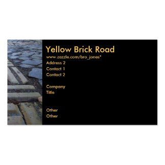 Yellow Brick Road Pack Of Standard Business Cards