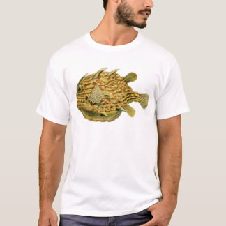 Yellow & Brown Fish by Ernst Haeckel T-Shirt