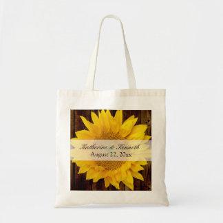 Yellow Brown Late Summer Sunflower Wedding
