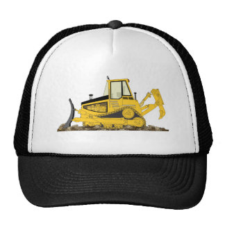 Yellow Bulldozer Cap