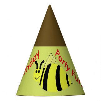 Yellow Bumble Bee Balloons Birthday Hats